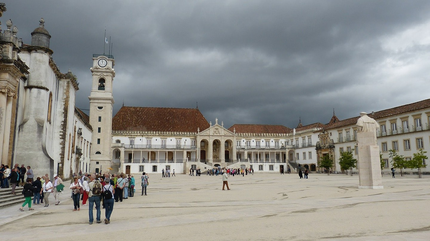 Paço das Escolas, the historic square at Coimbra University