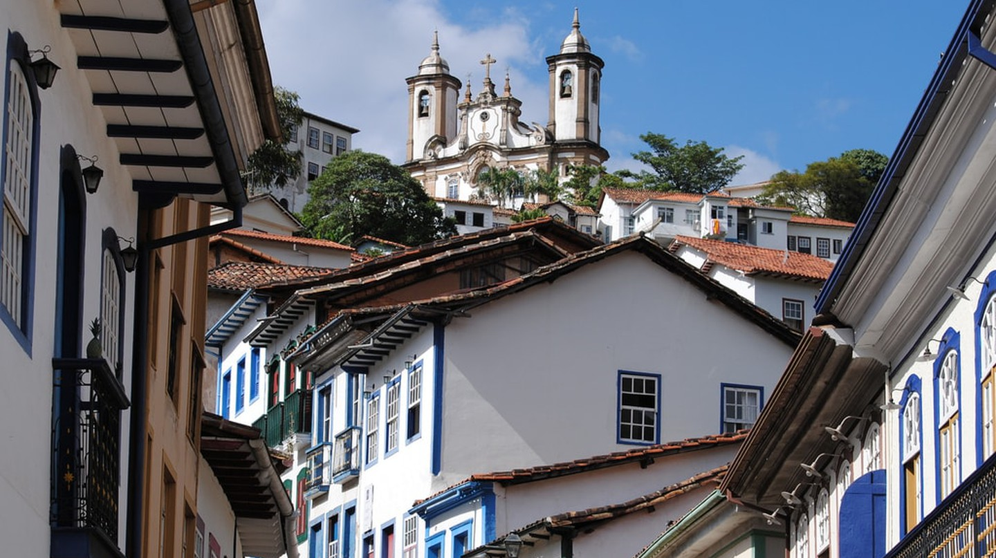The picturesque city of Ouro Preto