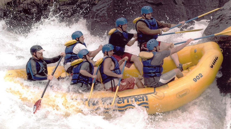 White-water rafting   © James McCauley / Flickr