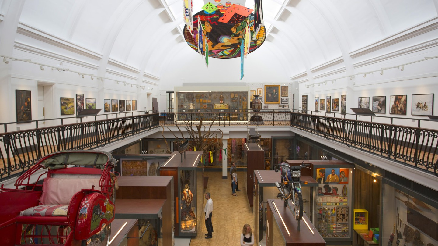 View of new World Gallery at the Horniman Museum