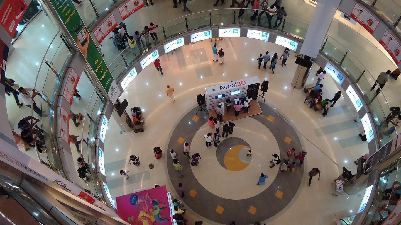 Oberon Mall, a local favourite among Kochiites