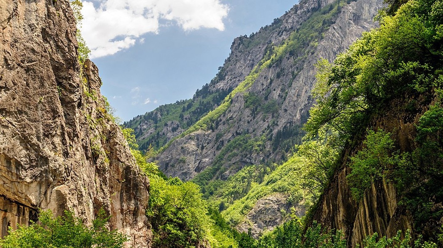 Rugova Canyon in Kosovo, one of the most exciting destinations to visit in the country
