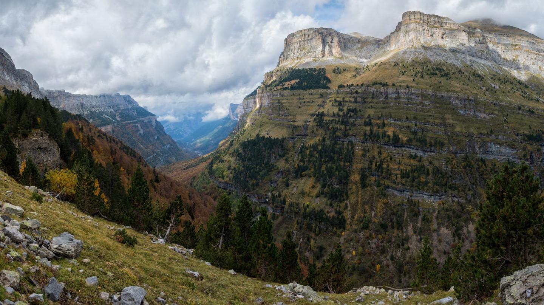 Views in the Ordesa valley