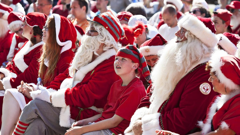 The World Santa Claus Congress in Bakken, Denmark