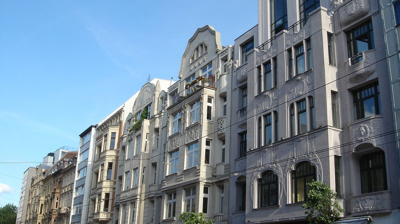 Townhouses in the Belgian Quarter