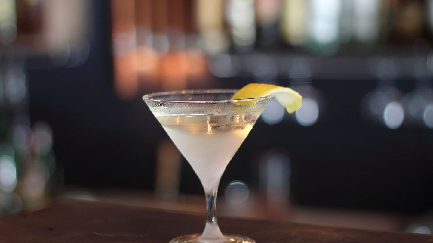 Nothing beats a great martini.