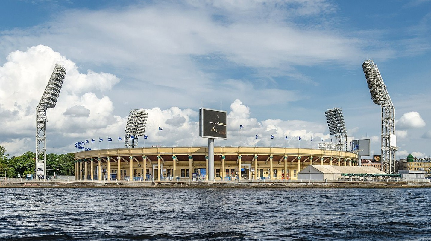 Saint Petersburg Stadium from the river | © Alex Fedorov/Wikimedia Commons
