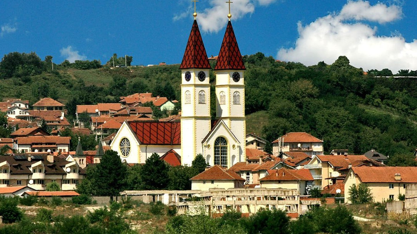 Saint Paul and Saint Peter Cathedral in Gjakova