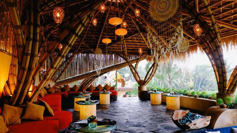 The dreamy Akasha Restaurant in Ubud, Bali