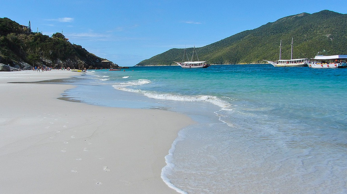 The pristine beaches of Arraial do Cabo