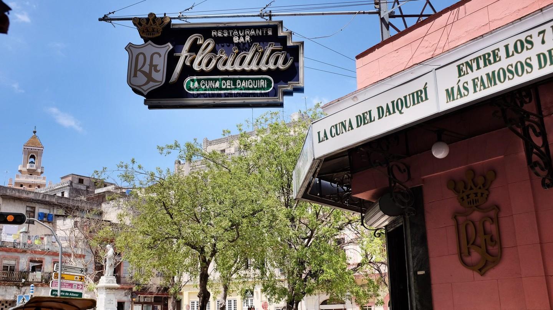 Floridita bar in Havana