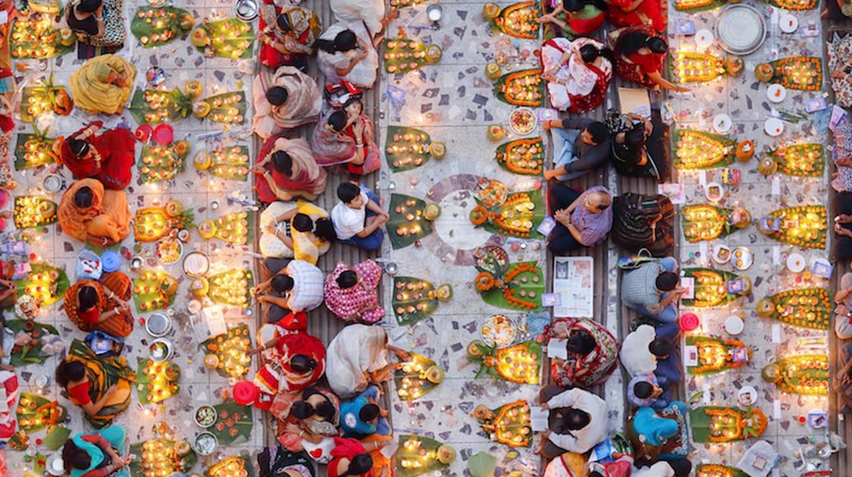 The winner, 'Praying for Food' by Noor Ahmed Gelal