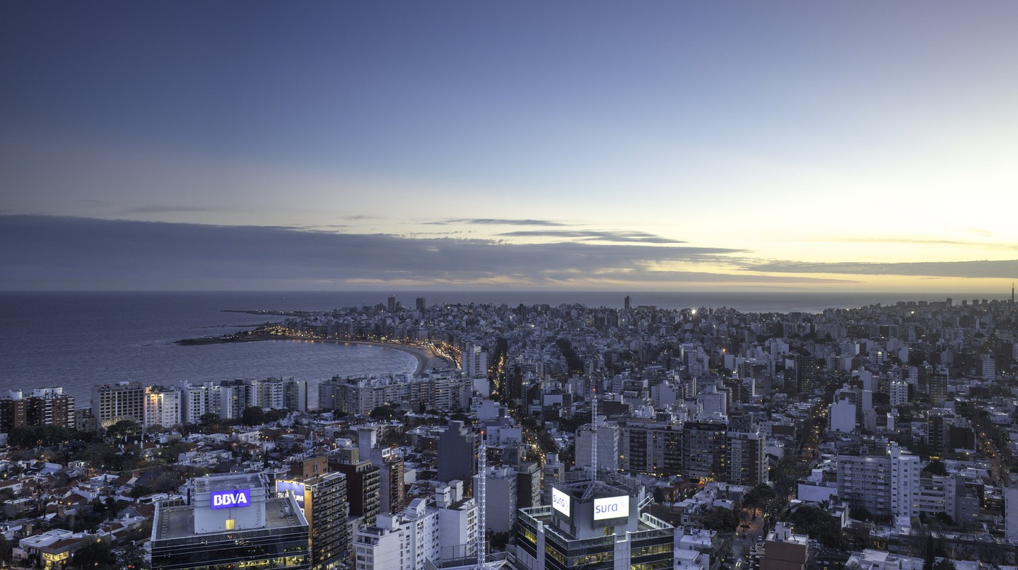 A view over Montevideo