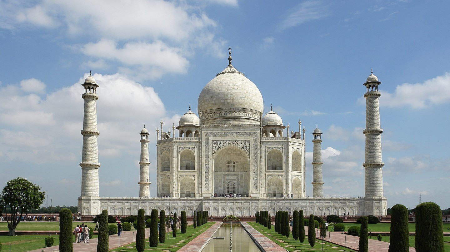 The Taj Mahal, one of the Seven Wonders of the World