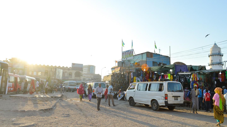 Djama, Downtown Djibouti