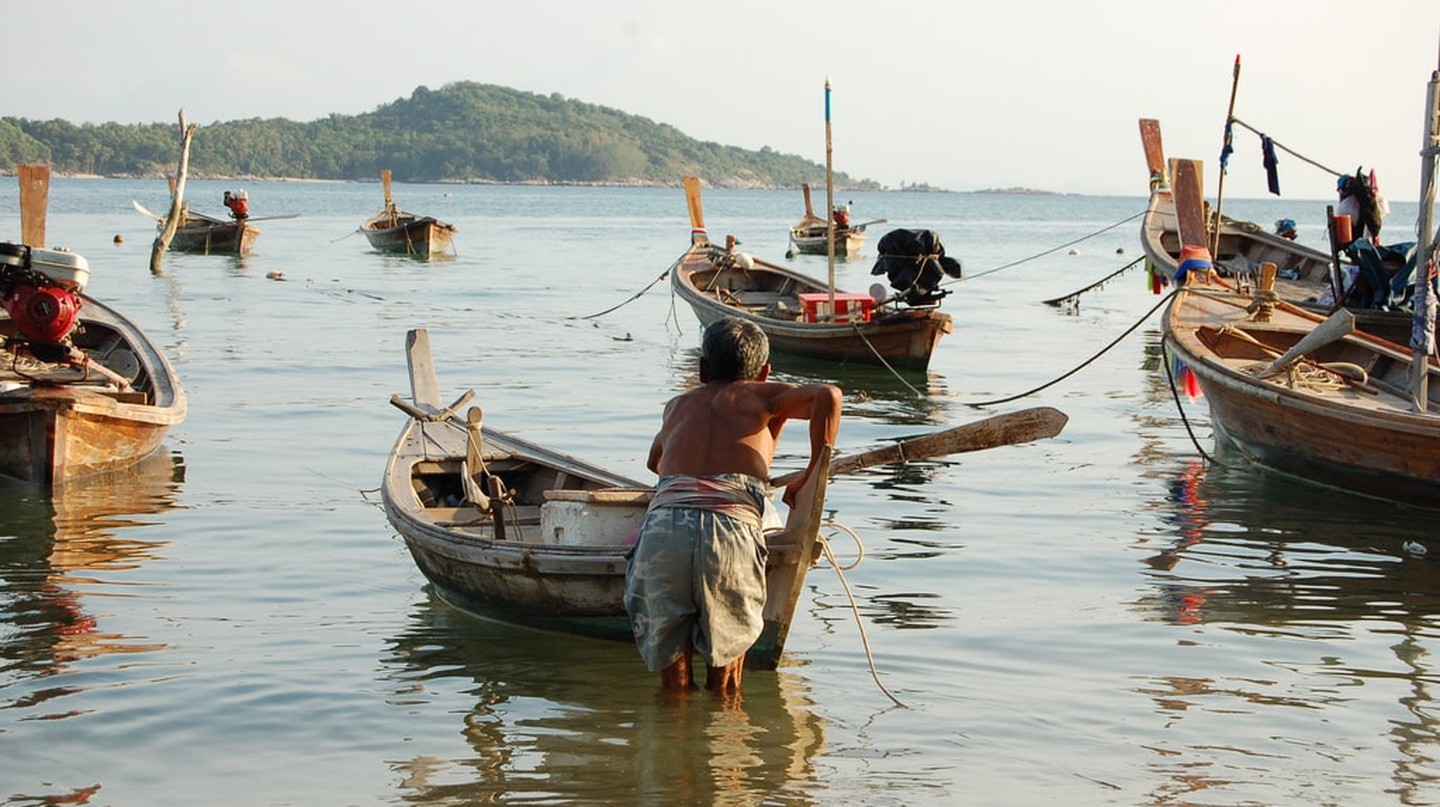 Local boats in Phuket | © Marufish / Flickr