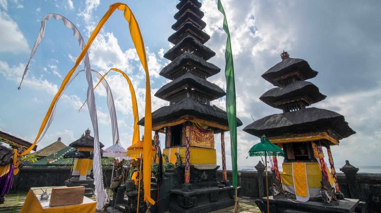 Temple ceremonies in Bali