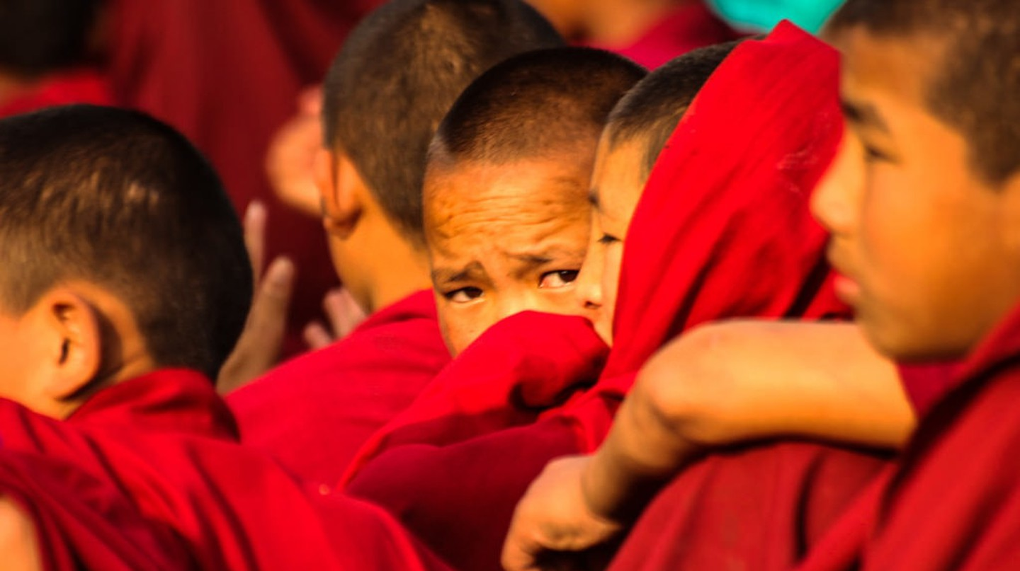 Young Tibetan Buddhist Monks