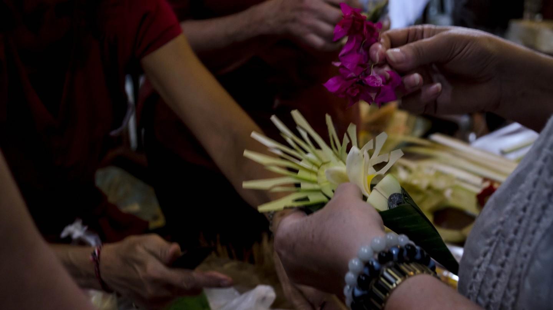 Cultural workshop in Ubud, Bali