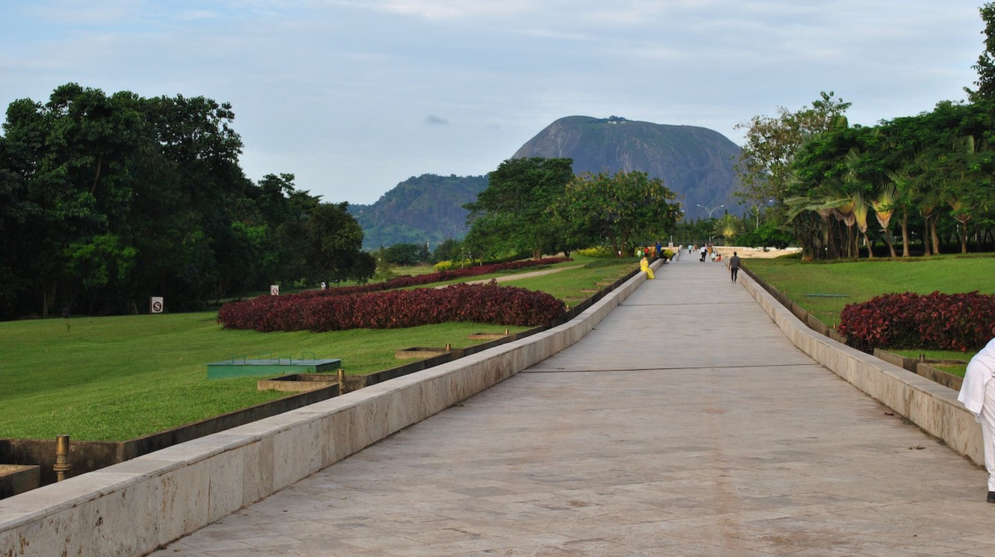 Aso Rock in view