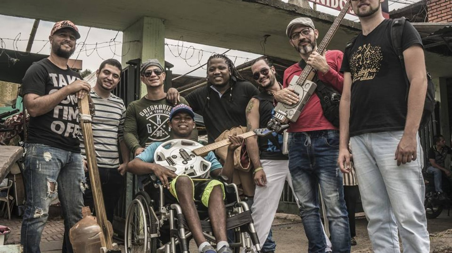 This Colombian Band Is Using Recycled Instruments to Spread Peace