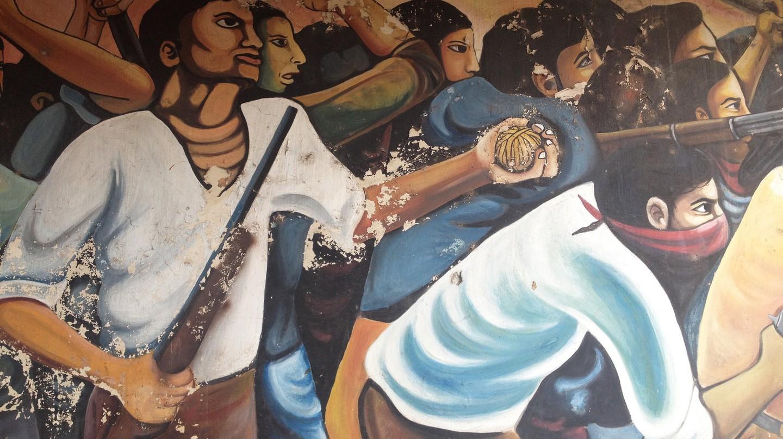 Revolutionary art in Esteli, Nicaragua