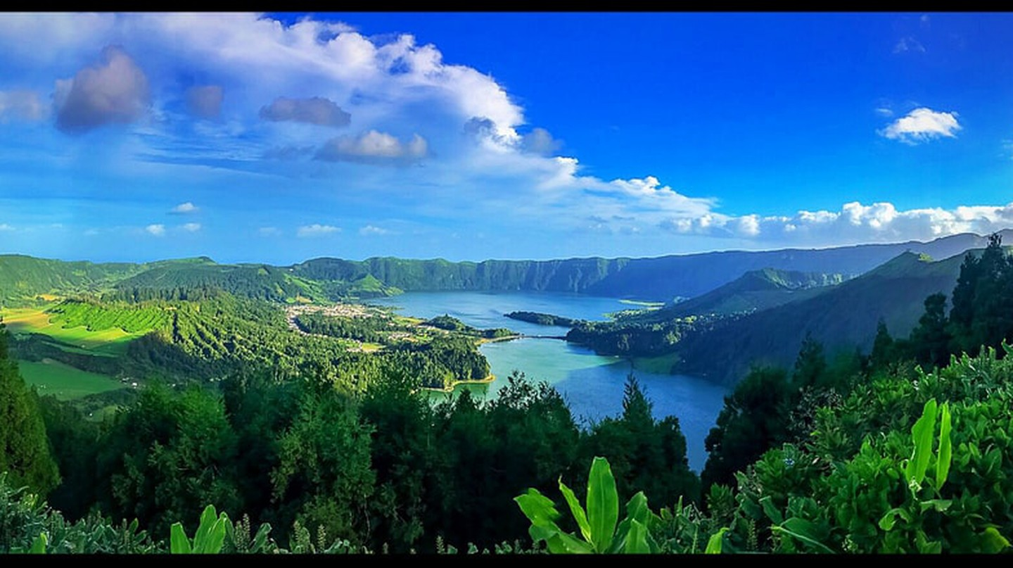 Panoramic of Sete Cidades