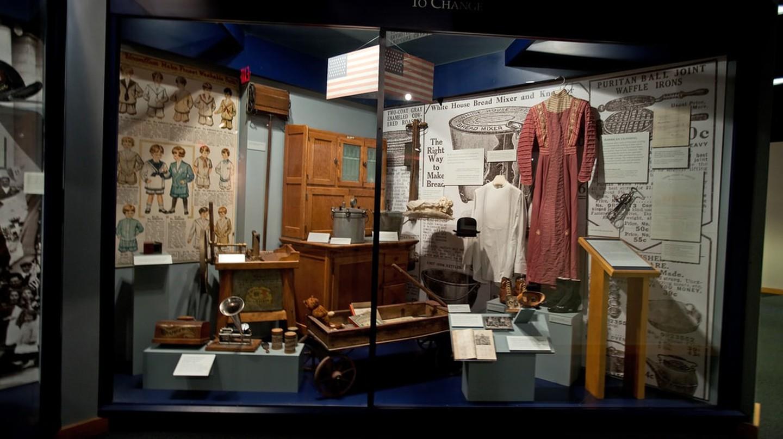 Wisconsin Historical Museum Exhibit