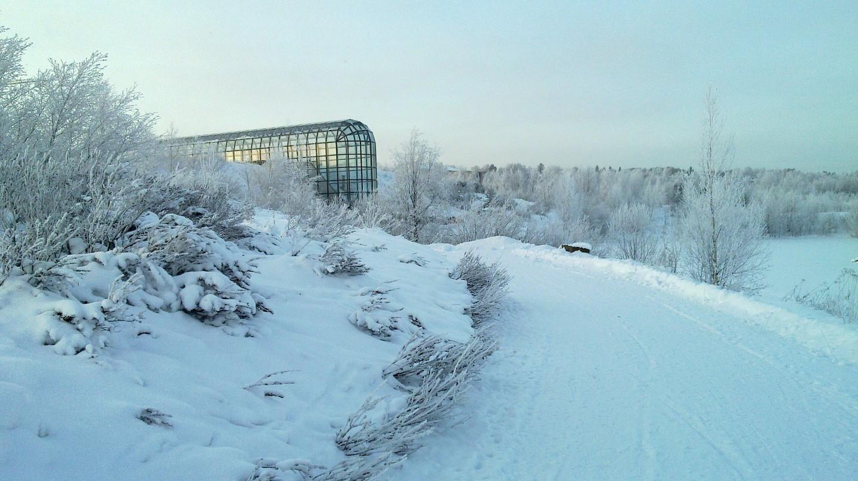 View of Arktikum in Rovaniemi