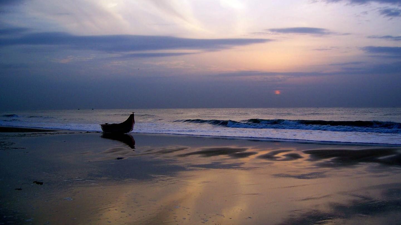 Sunset at Besant Nagar (Elliot's) Beach, Chennai