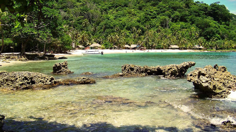La Miel is one of the best beaches around Capurganá and Sapzurro