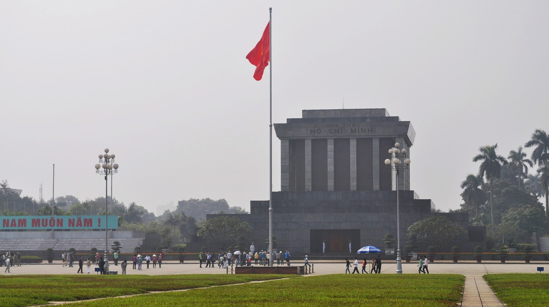 Ho Chi Minh's final resting place| © David McKelvey/Flickr