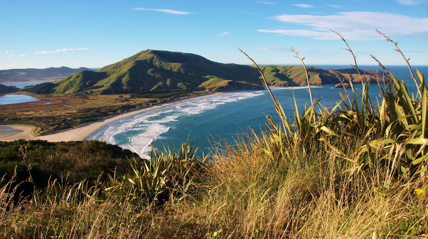 Mount Charles, Allans Beach and Cape Saunders