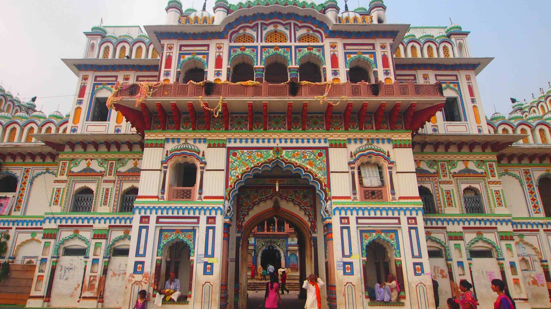 The Janaki Mandir in Janakpur