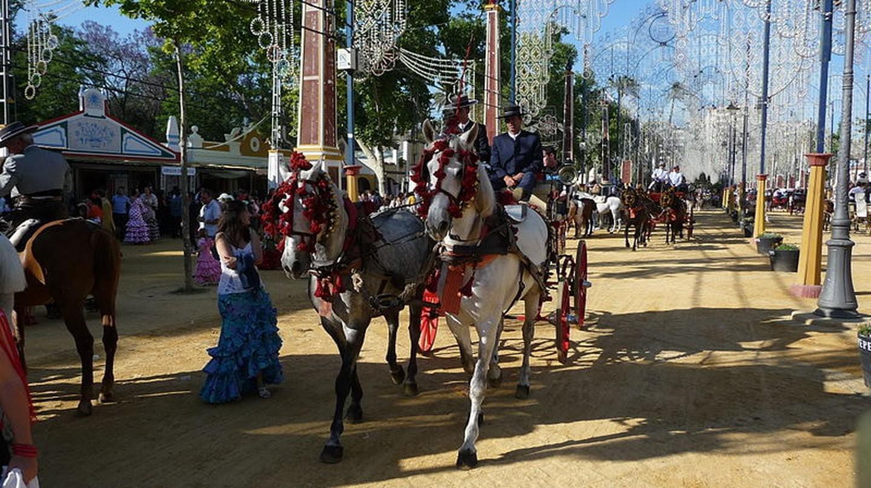 The Feria del Caballo in Jerez de la Frontera
