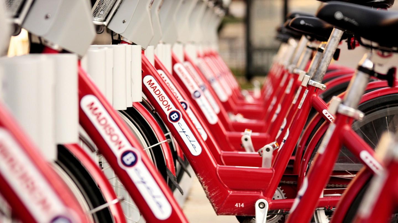 Bikes in Madison