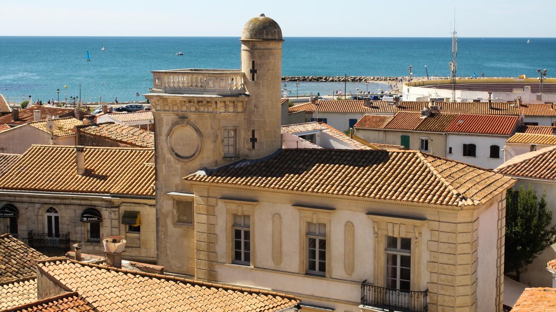 Saintes-Maries-de-la-Mer in the South of France