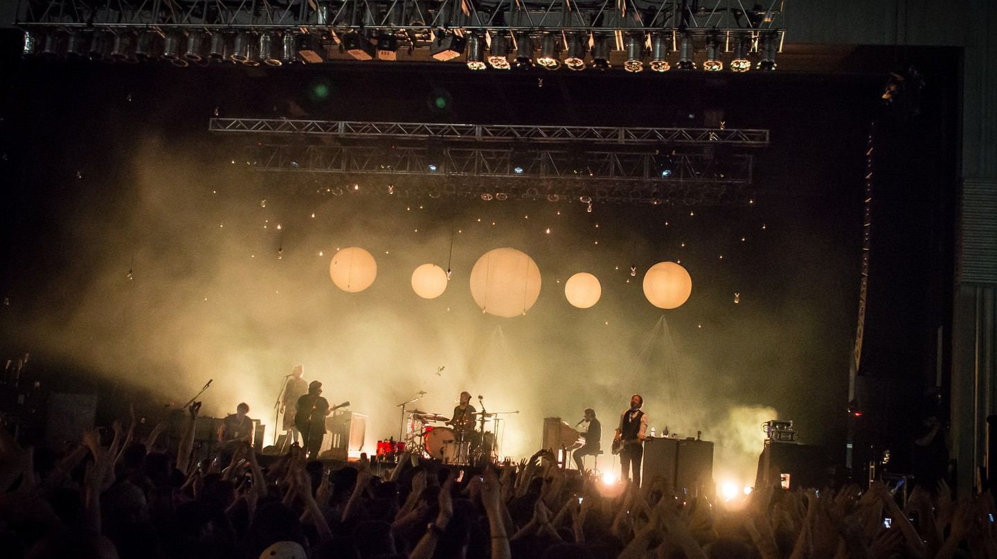 Of Monsters and Men performing at Stage AE in Pittsburgh