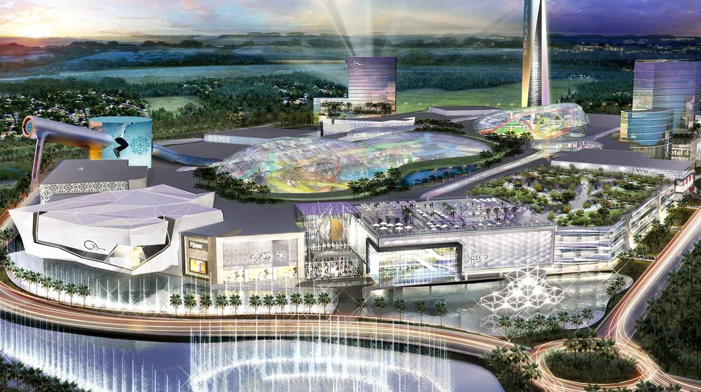 A rendering of the American Dream Mall in Miami