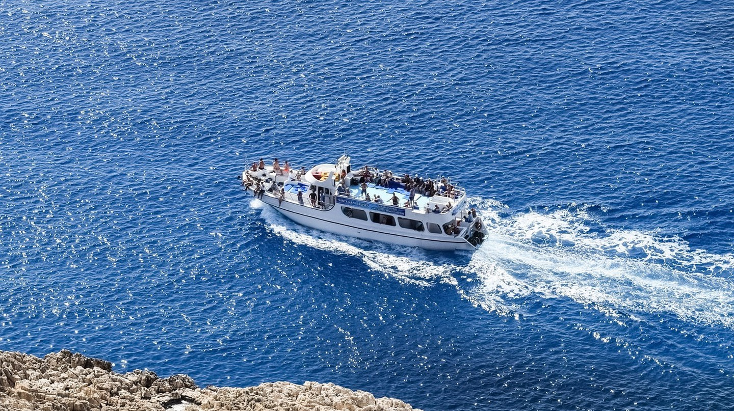 Dive into the Mediterranean sea with a boat ride