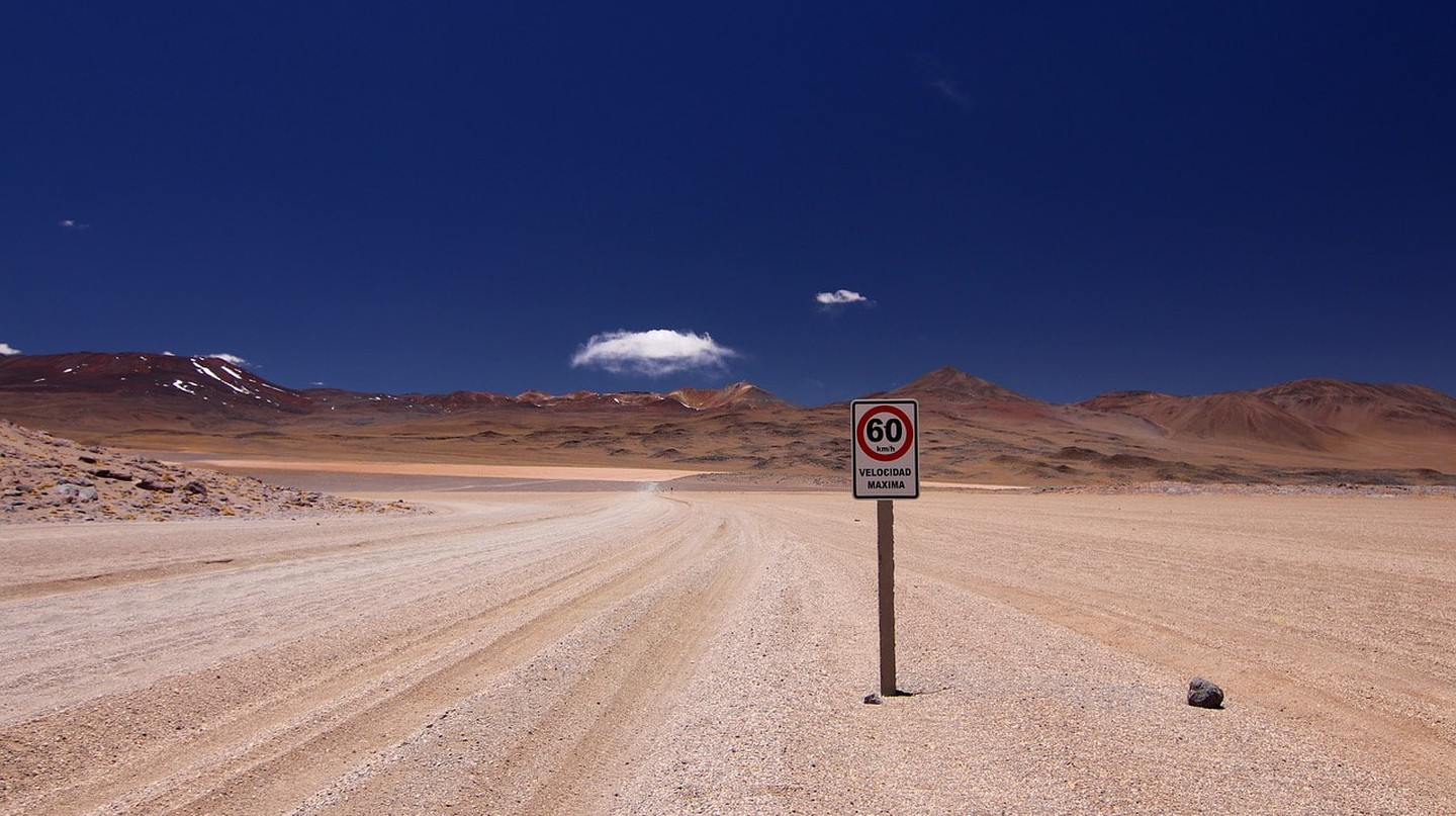 Bolivia Speed Limit | © RomanBader / pixabay