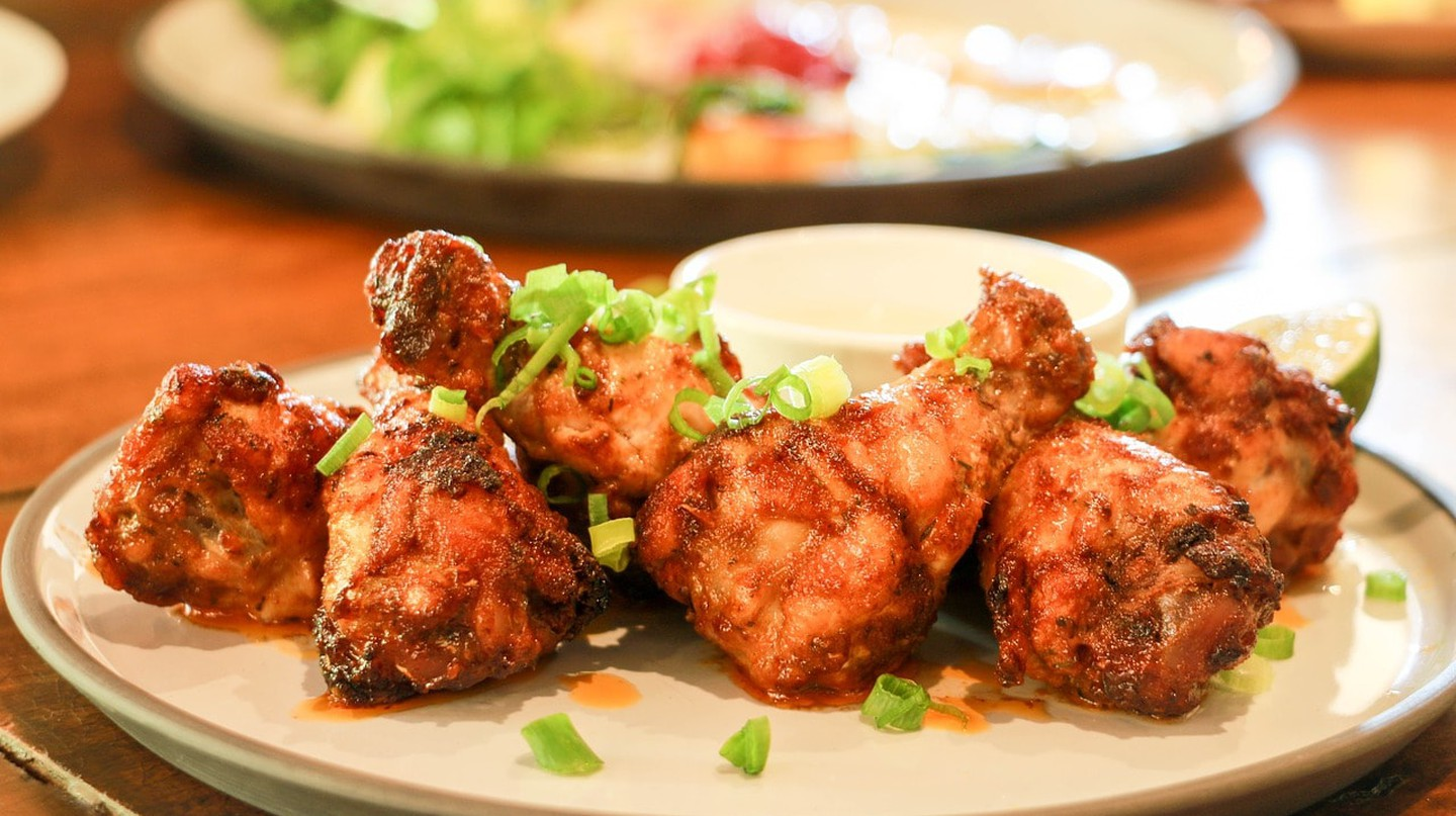 Barbequed chicken