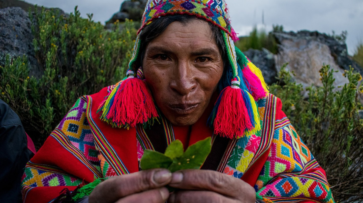 An offer to Pachamama