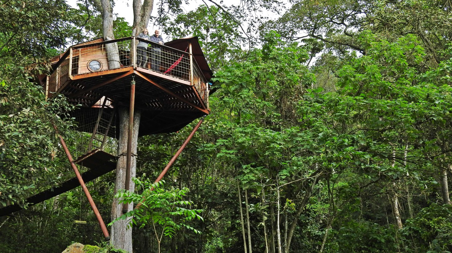 Colombia treehouse hotel | © Chris Bell