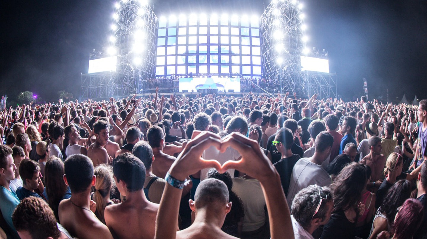 Electrobeach Music Festival in France
