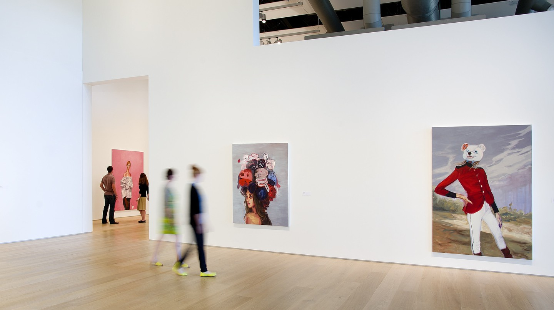 Janet Werner exhibition at Esker Foundation, 2013
