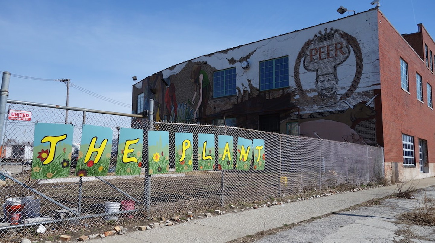 The Plant is housed in the former Peer Food meatpacking plant