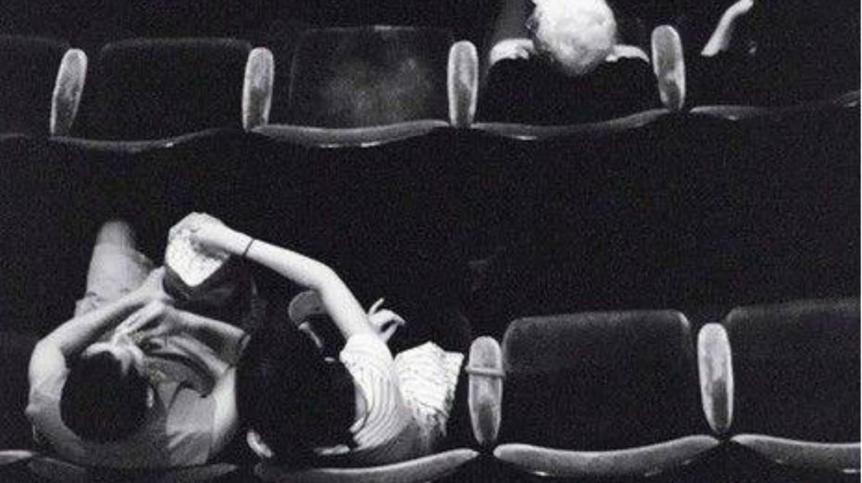 A stolen moment at Bioskop Fontana