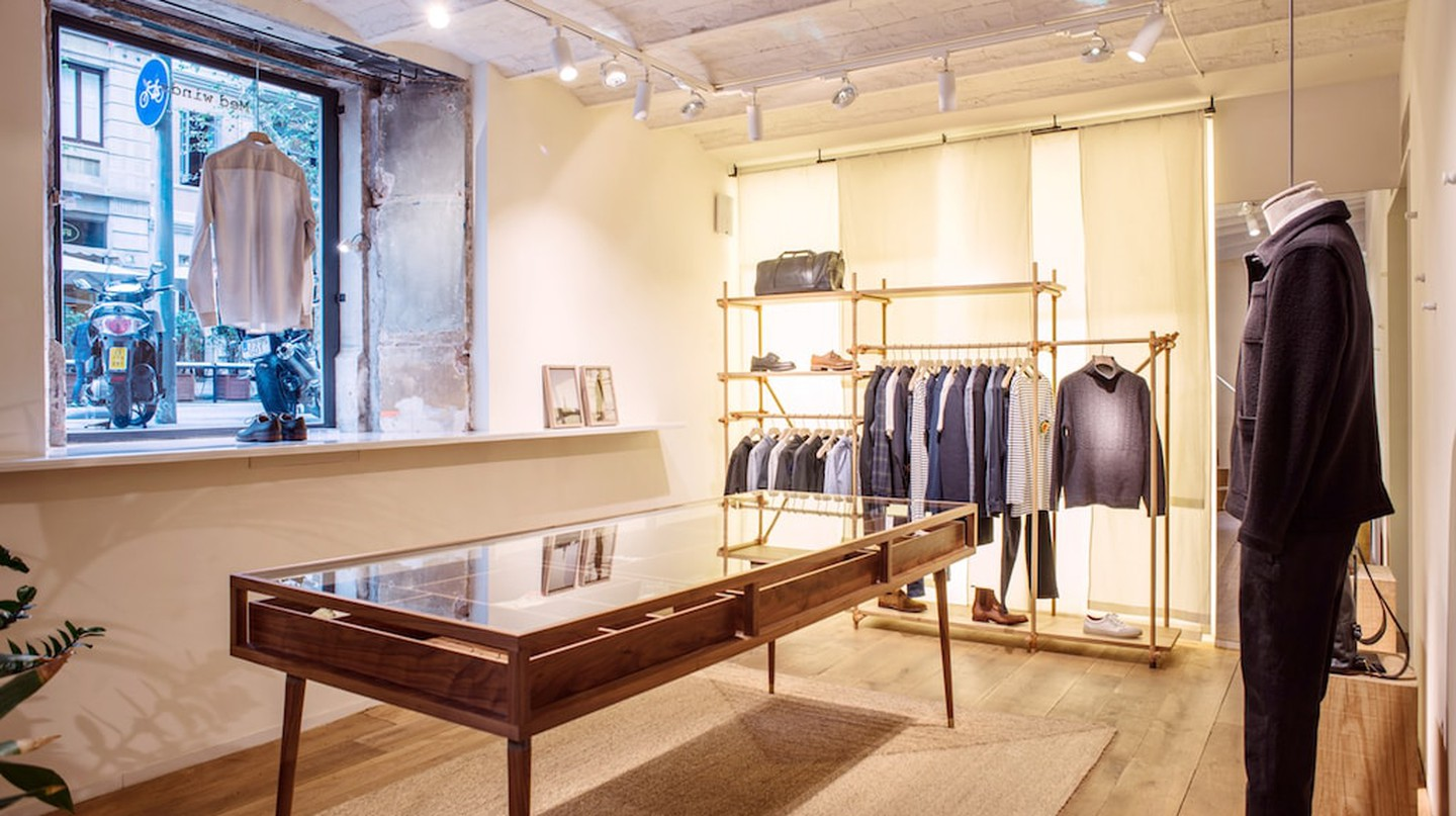 Med Winds menswear store, Barcelona