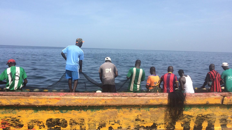 Fishermen in Senegal